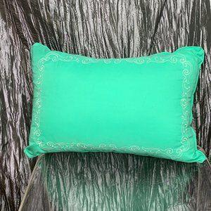 Mint Green Throw Pillow